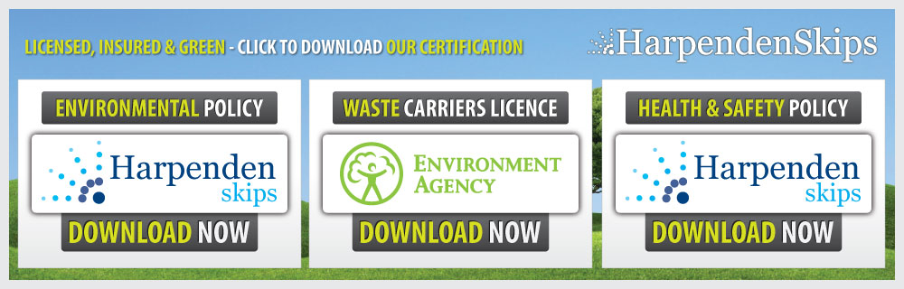 Download our Environmental Policy, Waste Carriers License.