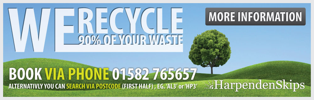 We Recycle 90 Percent of Your Waste.
